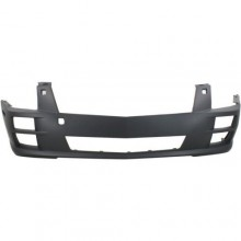 NEW FRONT BUMPER COVER PRIMED FITS 2005-2007 CADILLAC STS 12335935