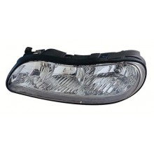 1997 - 2005 Chevrolet Malibu Front Headlight Assembly Replacement Housing / Lens / Cover - Left <u><i>Driver</i></u> Side