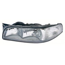 1997 - 1999 Buick LeSabre Front Headlight Assembly Replacement Housing / Lens / Cover - Left <u><i>Driver</i></u> Side