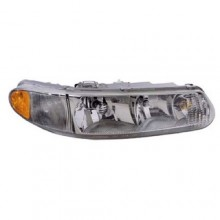 1997 - 2005 Buick Regal Front Headlight Assembly Replacement Housing / Lens / Cover - Left <u><i>Driver</i></u> Side
