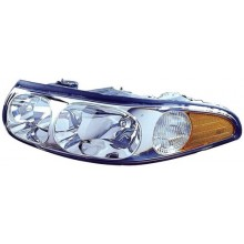 2000 - 2005 Buick LeSabre Front Headlight Assembly Replacement Housing / Lens / Cover - Left <u><i>Driver</i></u> Side - (Custom)