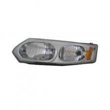 2003 - 2007 Saturn Ion Front Headlight Assembly Replacement Housing / Lens / Cover - Left <u><i>Driver</i></u> Side - (4 Door; Sedan)