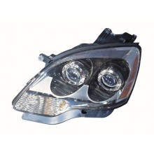 2007 - 2008 GMC Acadia Front Headlight Assembly Replacement Housing / Lens / Cover - Left <u><i>Driver</i></u> Side