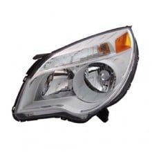 2010 -  2015 Chevrolet Equinox Front Headlight Assembly Replacement Housing / Lens / Cover - Left <u><i>Driver</i></u> Side - (LS + LT)