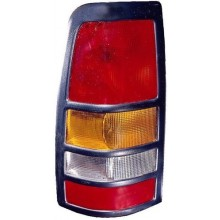 2001 - 2003 GMC Sierra 3500 Rear Tail Light Assembly Replacement / Lens / Cover - Left <u><i>Driver</i></u> Side