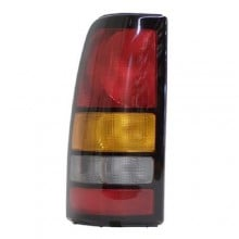 2004 - 2007 GMC Sierra 1500 Classic Rear Tail Light Assembly Replacement / Lens / Cover - Left <u><i>Driver</i></u> Side - (Fleetside)
