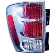 2005 -  2009 Chevrolet Equinox Rear Tail Light Assembly Replacement / Lens / Cover - Left <u><i>Driver</i></u> Side