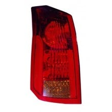 2004 - 2007 Cadillac CTS Rear Tail Light Assembly Replacement / Lens / Cover - Left <u><i>Driver</i></u> Side