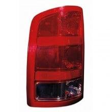 2007 - 2013 GMC Sierra 1500 Rear Tail Light Assembly Replacement / Lens / Cover - Left <u><i>Driver</i></u> Side - (SL + SLE + SLT + WT)