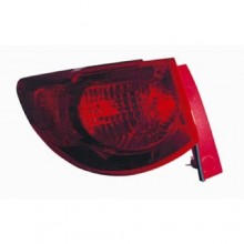 2009 - 2012 Chevrolet Traverse Rear Tail Light Assembly Replacement / Lens / Cover - Left <u><i>Driver</i></u> Side