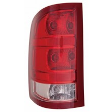 2010 - 2012 GMC Sierra 3500 HD Rear Tail Light Assembly Replacement / Lens / Cover - Left <u><i>Driver</i></u> Side