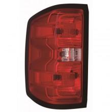 2016 - 2019 GMC Sierra 3500 Hd Tail Light Rear Lamp - Left <u><i>Driver</i></u>