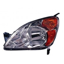 2002 -  2004 Honda CR-V Front Headlight Assembly Replacement Housing / Lens / Cover - Left <u><i>Driver</i></u> Side