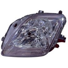 1997 -  2001 Honda Prelude Front Headlight Assembly Replacement Housing / Lens / Cover - Left <u><i>Driver</i></u> Side