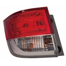2014 -  2016 Honda Odyssey Rear Tail Light Assembly Replacement / Lens / Cover - Left <u><i>Driver</i></u> Side Outer