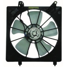 1998 - 2002 Honda Accord Engine / Radiator Cooling Fan Assembly - (2.3L L4) Replacement