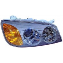 2002 -  2003 Hyundai XG350 Front Headlight Assembly Replacement Housing / Lens / Cover - Left <u><i>Driver</i></u> Side