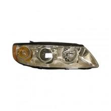 2006 - 2010 Hyundai Azera Front Headlight Assembly Replacement Housing / Lens / Cover - Left <u><i>Driver</i></u> Side