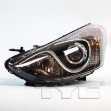 2013 -  2016 Hyundai Elantra GT Front Headlight Assembly Replacement Housing / Lens / Cover - Left <u><i>Driver</i></u> Side - (Hatchback)