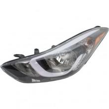 2014 -  2016 Hyundai Elantra Front Headlight Assembly Replacement Housing / Lens / Cover - Left <u><i>Driver</i></u> Side