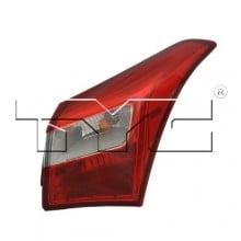2013 - 2013 Hyundai Elantra GT Rear Tail Light Assembly Replacement / Lens / Cover - Left <u><i>Driver</i></u> Side Outer