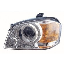 2003 - 2004 Kia Optima Front Headlight Assembly Replacement Housing / Lens / Cover - Left <u><i>Driver</i></u> Side