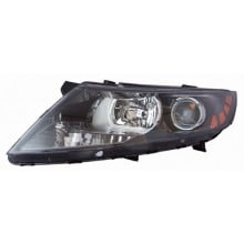 2011 - 2014 Kia Optima Front Headlight Assembly Replacement Housing / Lens / Cover - Left <u><i>Driver</i></u> Side