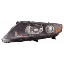 2012 - 2013 Kia Optima Front Headlight Assembly Replacement Housing / Lens / Cover - Left <u><i>Driver</i></u> Side