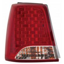2011 -  2013 Kia Sorento Rear Tail Light Assembly Replacement / Lens / Cover - Left <u><i>Driver</i></u> Side Outer - (EX + EX Luxury + LX)