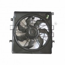 2014 - 2015 Kia Optima Engine / Radiator Cooling Fan Assembly Replacement