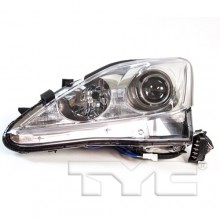 2006 - 2008 Lexus IS250 Front Headlight Assembly Replacement Housing / Lens / Cover - Left <u><i>Driver</i></u> Side