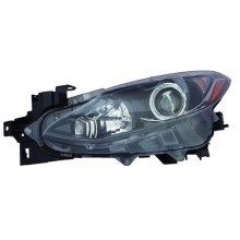2014 - 2016 Mazda 3 Front Headlight Assembly Replacement Housing / Lens / Cover - Left <u><i>Driver</i></u> Side - (Sedan)