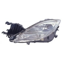 2009 - 2010 Mazda 6 Front Headlight Assembly Replacement Housing / Lens / Cover - Left <u><i>Driver</i></u> Side