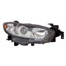 2014 -  2016 Mazda 6 Front Headlight Assembly Replacement Housing / Lens / Cover - Left <u><i>Driver</i></u> Side - (Sedan)