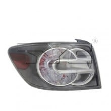 2007 -  2009 Mazda CX-7 Rear Tail Light Assembly Replacement / Lens / Cover - Left <u><i>Driver</i></u> Side