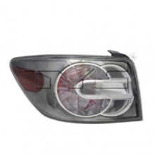 2010 - 2012 Mazda CX-7 Rear Tail Light Assembly Replacement / Lens / Cover - Left <u><i>Driver</i></u> Side