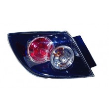 NEW 2005-2009 FITS MAZDA 3 TAIL LIGHT LED TYPE LEFT ASSEMBLY MA2800135