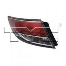 2009 -  2013 Mazda 6 Rear Tail Light Assembly Replacement / Lens / Cover - Left <u><i>Driver</i></u> Side Outer