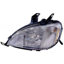 1998 -  2001 Mercedes-Benz ML320 Front Headlight Assembly Replacement Housing / Lens / Cover - Left <u><i>Driver</i></u> Side
