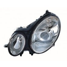 2003 - 2006 Mercedes-Benz E320 Front Headlight Assembly Replacement Housing / Lens / Cover - Left <u><i>Driver</i></u> Side - (4 Door; Sedan)