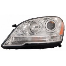 2008 -  2011 Mercedes-Benz ML350 Front Headlight Assembly Replacement Housing / Lens / Cover - Left <u><i>Driver</i></u> Side - (164.186 Body Code + 164.156 Body Code + 164.125 Body Code)