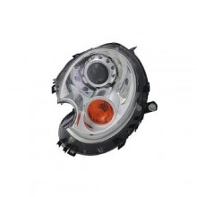 2007 -  2015 Mini Cooper Front Headlight Assembly Replacement Housing / Lens / Cover - Left <u><i>Driver</i></u> Side - (Clubman + Coupe + Coupe John Cooper Works + Coupe S + John Cooper Works Clubman + Roadster + Roadster John Cooper Works + Roadster S + S Clubman)