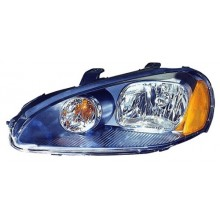 2003 -  2005 Dodge Stratus Front Headlight Assembly Replacement Housing / Lens / Cover - Left <u><i>Driver</i></u> Side - (2 Door; Coupe)
