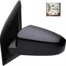 2007 -  2012 Nissan Sentra Side View Mirror Assembly / Cover / Glass Replacement - Left <u><i>Driver</i></u> Side