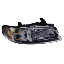 2000 - 2001 Nissan Sentra Front Headlight Assembly Replacement Housing / Lens / Cover - Left <u><i>Driver</i></u> Side