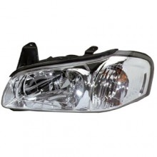 2000 - 2001 Nissan Maxima Front Headlight Assembly Replacement Housing / Lens / Cover - Left <u><i>Driver</i></u> Side - (GLE + GXE + SE)