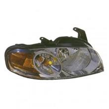 2004 -  2006 Nissan Sentra Front Headlight Assembly Replacement Housing / Lens / Cover - Left <u><i>Driver</i></u> Side - (Base Model + S)