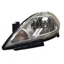 2007 - 2012 Nissan Versa Front Headlight Assembly Replacement Housing / Lens / Cover - Left <u><i>Driver</i></u> Side