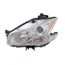 2009 - 2013 Nissan Maxima Front Headlight Assembly Replacement Housing / Lens / Cover - Left <u><i>Driver</i></u> Side