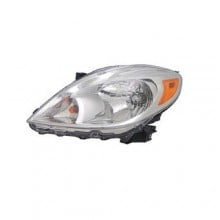 2012 -  2014 Nissan Versa Front Headlight Assembly Replacement Housing / Lens / Cover - Left <u><i>Driver</i></u> Side - (Sedan)